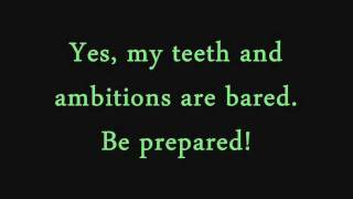 Download Be Prepared- The Lion King (lyrics) Video