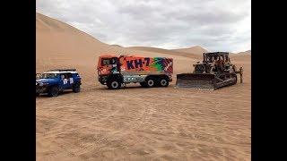 Download Épico rescate del camión de Jordi Juvanteny en el desierto peruano Dakar 2018 Video