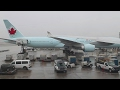 Download Air Canada 777-300ER Frankfurt-Toronto Safety, Takeoff, Inflight, Low Visibility Landing AC873 Video
