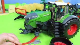 Download Fire Truck, Excavator, Dump Trucks, Tractor, Police Cars & Mixer Construction Toy Vehicles for Kids Video