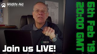 Download How old do you need to be to work at Wildlife Aid? - Live Q&A #1 Video