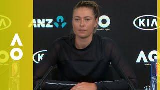 Download Maria Sharapova press conference (2R) | Australian Open 2018 Video