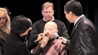 Download Bryan Cranston shaves his head - The After After Party BTS Video