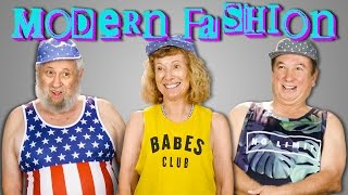Download ELDERS TRY ON MODERN CLOTHES | ELDERS REACT Video