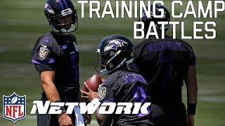 Download Top Training Camp Battles to Watch in 2018 | Total Access | NFL Network Video