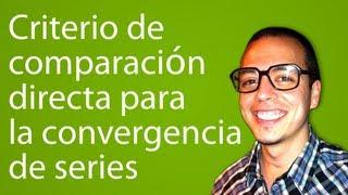 Download Criterio de comparación directa para la convergencia de series Video