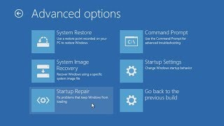 Download Windows 10: Resolve startup problems with the Advanced Boot Options Video