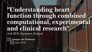 Download Understanding heart function through combined computational, experimental and clinical research Video