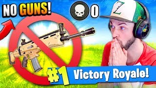 Download WINNING with NO WEAPONS in Fortnite: Battle Royale!? Video