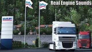 Download ✅ ETS2 - Real Engine Sound DAF XF 105.410, 460, 510 E5 EEV Video