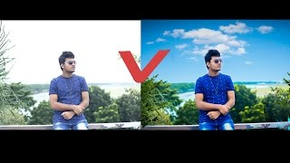 Download Photoshop CC Tutorial | How To Replace SKY & Color Editing Video