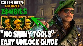 Download NEW ″NO SHINY TOOLS″ HIDDEN CHALLENGE GUIDE ″THE SHADOWED THRONE″ | Call Of Duty: WW2 ZOMBIES Video
