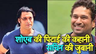 Download Sachin Exclusive: When Tendulkar hit that famous 6 off Akhtar in 2003 IndvsPak World Cup | Vikrant Video