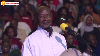 Download MUSEVENI - SAYS MUSICIANS LIKE BOBIWINE & MAYINJA ARE NOT GOOD FOR THE INDUSTRY - SEE FULL SPEECH Video