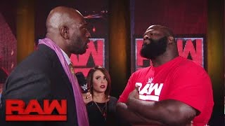 Download ″Incarnate″ star Mark Henry puts Titus O'Neil in his place: Raw, Nov. 28, 2016 Video