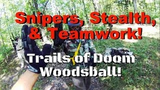 Download THIS is Woodsball Trails of Doom Best Game Featuring the ZoomCam Snipers Stealth Snap Shooting Video