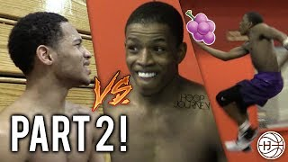Download Jelly Fam 🍇 vs Mr. NYC 1 on 1! Isaiah Washington and Markquis Nowell GETS HEATED! PART 2 Video