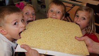 Download World's Largest Rice Krispie Treat - Math Skills with Rice Krispie Video