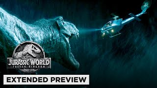 Download Jurassic World: Fallen Kingdom | T. Rex vs. Helicopter vs. Mosasaurus Video