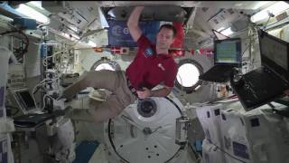 Download Station Crew Member Discusses Life in Space with French Media Video