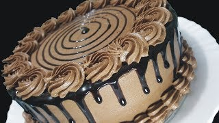Download Mocha Buttercream Cake / Vanilla Cake With Chocolate Buttercream Frosting Sara's Haute Cuisine Video