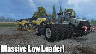 Download Farming Simulator 15 - New Low Loader! - Mod Showcase Video
