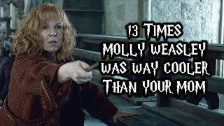 Download 13 Times Molly Weasley Was Way Cooler Than Your Mom Video