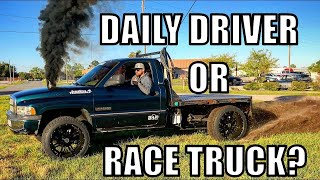 Download Ripping the Sick New MANUAL Transmission In The Flatty!!!! Video