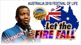 Download Pastor E.A Adeboye Sermon @ RCCG Australia FESTIVAL OF LIFE 2018 Video