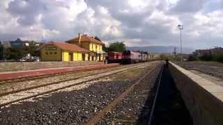 Download TCDD DE36 005 northbound freight Sandikli Video