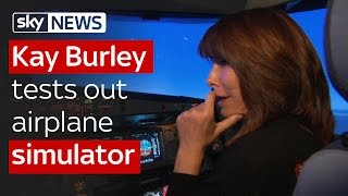 Download Kay Burley interviews Captain 'Sully' and tests out airplane simulator Video