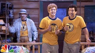 Download Young Jimmy Fallon & Justin Timberlake Sing ″Ironic″ at Camp Winnipesaukee Video