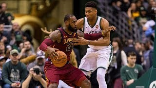 Download LeBron James Inbound Off Giannis Back! Cavs vs Bucks 2017-18 Season Video
