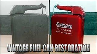 Download Weird 1950's era Fuel Can Restoration. Video