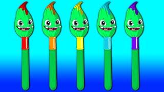 Download ¡Nuevo Episodio! Aprende los colores con Groovy el Marciano y Phoebe - Dibujos Educativos Video