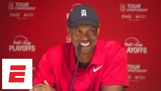 Download Tiger Woods Tour Championship press conference after first victory since 2013   ESPN Video