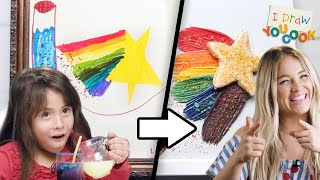 Download Can These Chefs Turn This Fairy Drawing Into A Dessert? • Tasty Video