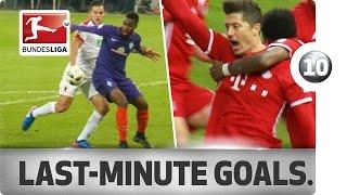 Download Top 10 most dramatic Bundesliga goals - Lewandowski, Bobadilla & Co. Video