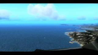 Download FSX Flight Simulator X HD - Landing Aerosoft Ibiza - Core i7 OC @ 3.80 GHz and ATI 4870 HD X2 Video