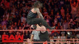 Download Roman Reigns vs. Kevin Owens: Raw, Sept. 12, 2016 Video