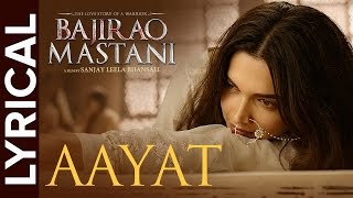 Download Lyrical: Aayat | Full Song with Lyrics | Bajirao Mastani Video