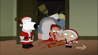 Download Stewie and Brian Becomes Santa Clauses - try not to laugh challenge (family guy funniest moments) #5 Video