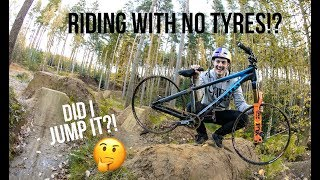 Download RIDING WITH NO TYRES! Video
