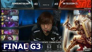 Download SSG vs SKT | Game 3 Grand Finals S7 LoL Worlds 2017 | Samsung Galaxy vs SK Telecom T1 G3 Video