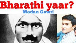 Download Bharathi yaar?   Tamil   Madan Gowri   MG   Who is Bharathi?   Bharathiyaar History Video