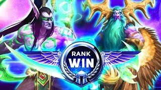 Download TGN SQUADRON RANK WIN | Heroes of the Storm Ranked Duo Queue Gameplay w/ MFPallytime & Mewnfare Video