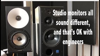 Download Are studio monitors more accurate than audiophile speakers? Video