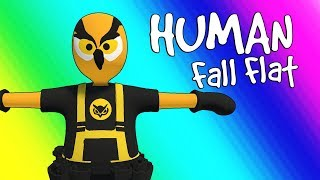Download Human Fall Flat Funny Moments - Parkour Team! (Funniest Game Ever!) Video