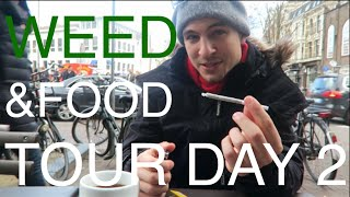Download WEED & MUNCHIES IN AMSTERDAM 😎 ☁️ #EuroweekDAY2 Travel Vlog – more Buds, more Coffee, more Food :) Video
