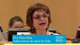 Download Dra. Paula Daza, Subsecretaria de salud de Chile Video